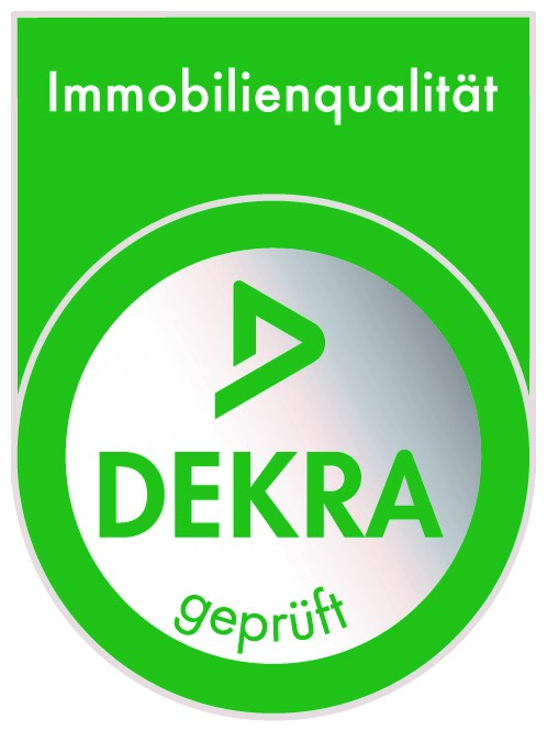 Dekra-Siegel für Immobilienqualität von Team Massivhaus.